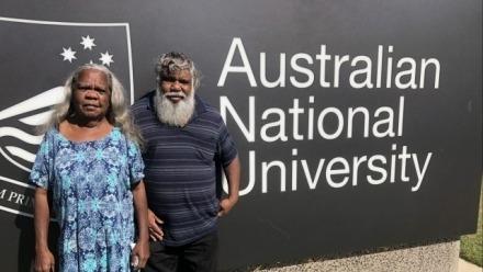 Garrwa Elders teach at the ANU
